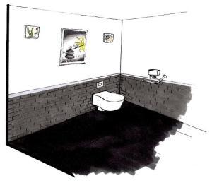 r habilitation d un espace sanitaire pour personne mobilit r duite d coration h doniste. Black Bedroom Furniture Sets. Home Design Ideas
