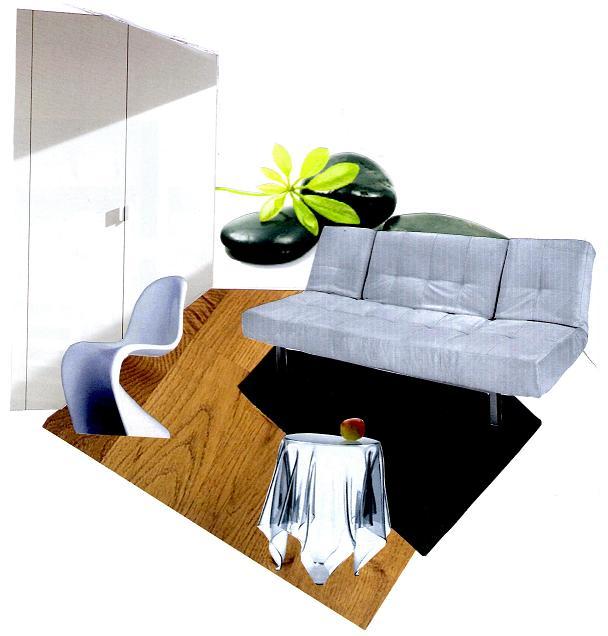 r am nagement d une chambre d amis d coration h doniste. Black Bedroom Furniture Sets. Home Design Ideas